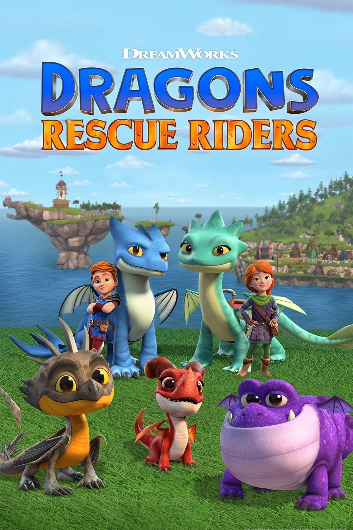 Dragons: Rescue Riders' />