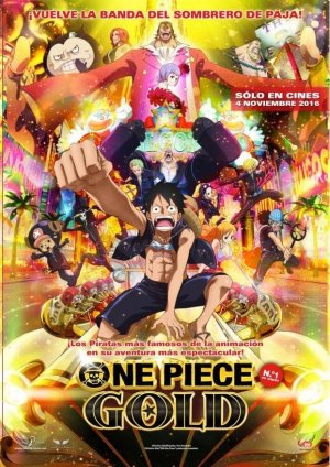 Póster One Piece: Gold
