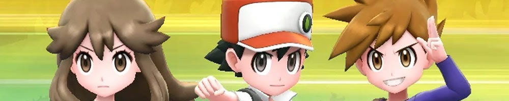 Pokémon Let's Go: Dobles con Pokémon de Red, Blue o Green