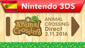 Animal Crossing Direct - 02.11.2016
