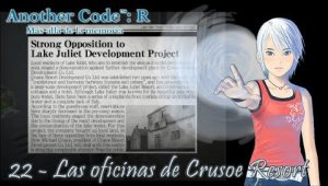 Another Code: R Cap.22 - Las oficinas de Crusoe Resort