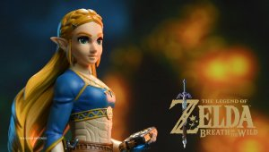 Así es la figura de Zelda basada en Breath of the Wild por First 4 Figures