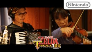 Así se grabó la música de The Legend of Zelda: Tri Force Heroes