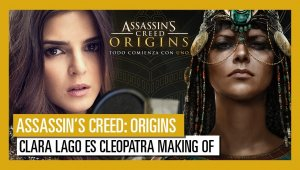 Assassin's Creed: Origins - Making of del doblaje con Clara Lago