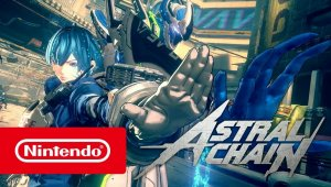 ASTRAL CHAIN - Action trailer (Nintendo Switch)