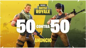 Battle Royale de Fortnite: tráiler de lanzamiento de 50 contra 50