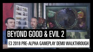 Beyond Good & Evil 2 – Pre-Alpha gameplay
