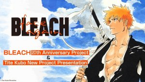 BLEACH 20th Anniversary Project & Tite Kubo New Project Presentation