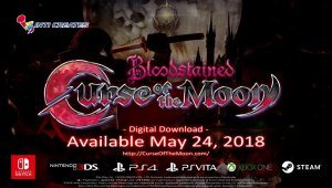 Bloodstained: Curse of the Moon - Tráiler de presentación