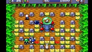 Bomberman ´94 Gameplay Area 1-1