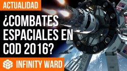Call of Duty 2016 podría incluir combates espaciales