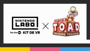 Captain Toad: Treasure Tracker con realidad virtual