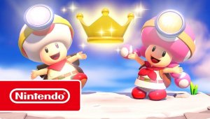 Captain Toad: Treasure Tracker – Parte especial