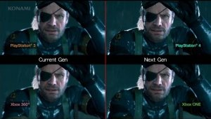 Comparativa entre las cuatro versiones de Metal Gear Solid V: Ground Zeroes