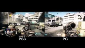 Comparativa PS3 vs PC
