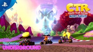 Crash Team Racing Nitro-Fueled se muestra en un extenso gameplay