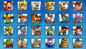 Crash Team Racing Nitro Fueled - Todos los personajes