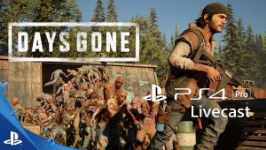 Days Gone - Gameplay en PlayStation 4 Pro