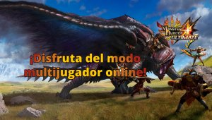 Descubre el modo online de Monster Hunter 4 Ultimate