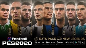 Detalles del Data Pack 4.0 - eFootball PES 2020