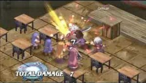 Disgaea 3 Absence of Justice Classroom Gameplay