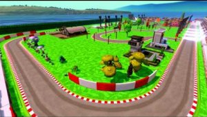 DISNEY INFINITY:  Toy Box Racing