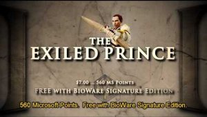 DLC - The Exiled Prince