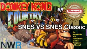 Donkey Kong Country- Comparativa entre SNES vs SNES Classic