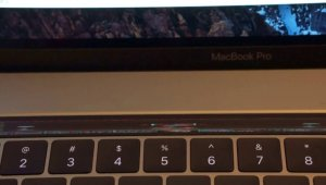 Doom on the MacBook Pro Touch Bar