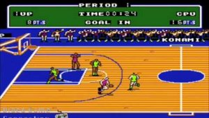 Double Dribble Gameplay