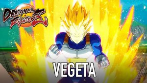 Dragon Ball FIghterZ muestra a Vegeta en acción