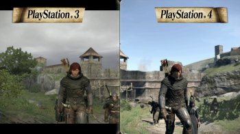 Dragon's Dogma: Dark Arisen - Video comparativo (PS3/PS4)
