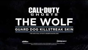 El lobo de Call of Duty: Ghosts se apunta un nuevo look