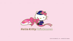 El tren bala de Hello Kitty