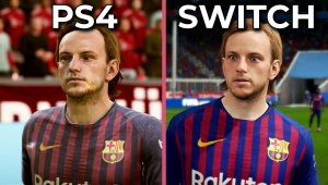 FIFA 19 – Comparación gráfica Switch vs. PS4