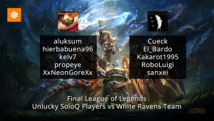 Final de League of Legends 05-04-2015