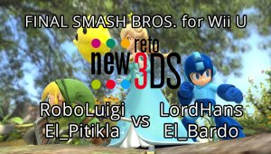 Final de Super Smash Bros. for Wii U en el New Reto 3DS Online