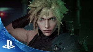 Final Fantasy VII Remake - Gameplay de la Playstation Experience 2015