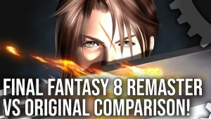 Final Fantasy 8 Remastered vs Original - Comparación