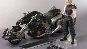 Final Fantasy VII Remake Collector's Edition - Figura de la moto de Cloud