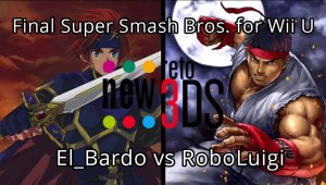 Final New Reto 3DS -Super Smash Bros. for Wii U - El_Bardo vs RoboLuigi