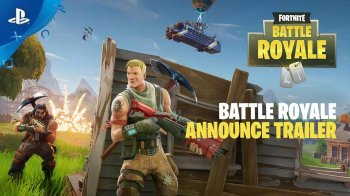 Fortnite – Battle Royale Announce Trailer | PS4