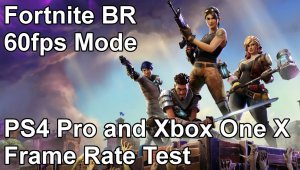 Fortnite Battle Royale - Modo 60fps en PS4 Pro y Xbox One X
