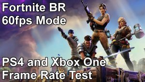 Fortnite Battle Royale - Modo 60fps en PS4 y Xbox One