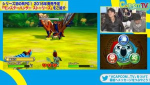 Gameplay de Monster Hunter Stories para 3DS