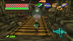 Gameplay de Ocarina of Time