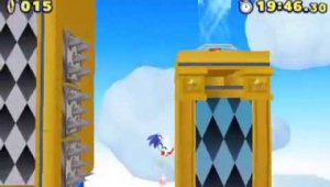 Gameplay de Sonic Lost World para Nintendo 3DS