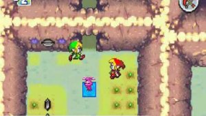 Gameplay de The Legend of Zelda: Four Swords