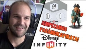 Gameplay Disney Infinity #1 Piratas del Caribe Playset