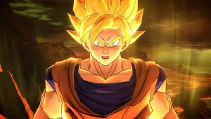 Goku y Nappa se enfrentan en Dragon Ball Z: Battle of Z